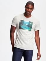 Old Navy Triblend Graphic Tee for Men
