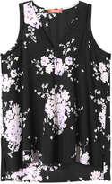 Joe Fresh Women's Sleeveless Blouse, JF Midnight Blue (Size S)