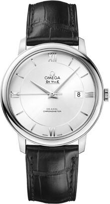 Omega Stainless Steel De Ville Prestige Co-Axial Watch 40mm