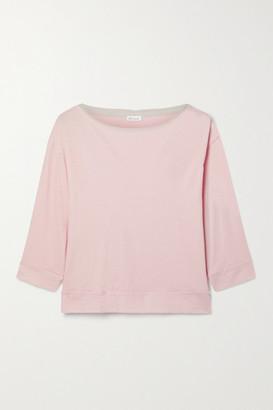 Skin Net Sustain Gavrielle Organic Pima Cotton-jersey Top - Pink