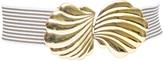 ASOS Shell Clasp Stripe Elastic Belt