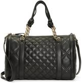 Quilted Calfskin Medium Barrel Bag