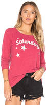 Chaser Saturday Top in Red. - size L (also in M,S,XS)