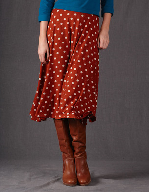 Boden Swishy Jersey Skirt