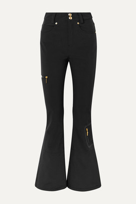P.E Nation Dc Stretch Flared Ski Pants - Black