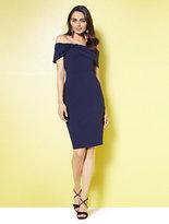 New York & Co. Off-The-Shoulder Sheath Dress