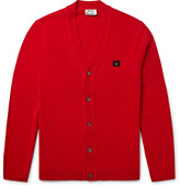 Acne Studios Dasher Wool Cardigan - Red