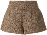 RED Valentino tweed shorts