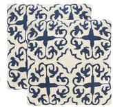 Safavieh 2-piece Moroccan Outdoor Throw Pillow Set