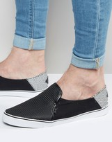 Rock & Religion Slip On Plimsolls