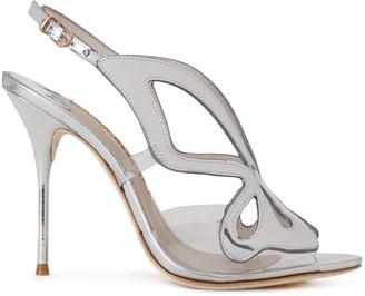 Sophia Webster Sling-Back Metallic Sandals