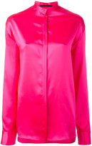 Haider Ackermann band collar shirt - women - Silk - 38