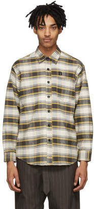 Billy Black and Yellow Flannel Check Shirt
