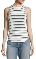 Frame Double Striped Tank Top