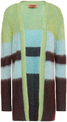 Missoni Brushed Striped Intarsia-knit Cardigan
