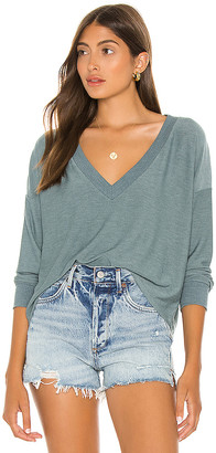 Chaser Cropped Long Sleeve Pullover