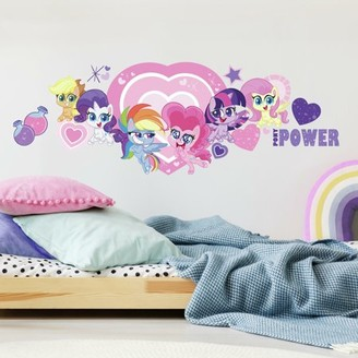 Room Mates RoomMates My Little Pony Let'S Get Magical Peel and Stick Giant Wall Decals