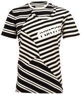 Miharayasuhiro multi stripe print T-shirt