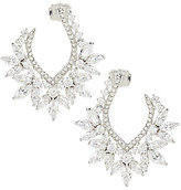 Nadri Faerie Cubic Zirconia Hoop Earrings
