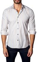 Jared Lang Striped Button-Down Sportshirt