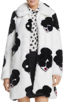 Alice + Olivia Kinsley Stace Face Faux-Fur Coat