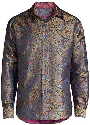 Robert Graham Auguste Classic-Fit Limited Edition Silk Sport Shirt