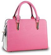 Donalworld Lady Work Satchelessenger Bag PU Leather Shoulder Handbag