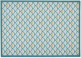 Nourison Home & Garden Wave Indoor Outdoor Rug - 6'6'' x 9'9''