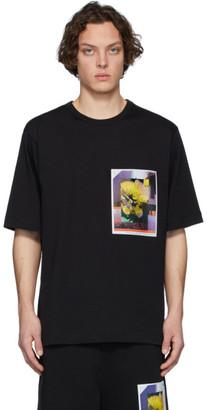 Dries Van Noten SSENSE Exclusive Black Mika Ninagawa Edition Print T-Shirt