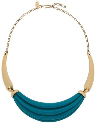 LANVIN Pre-Owned 1980s Turquoise Necklace