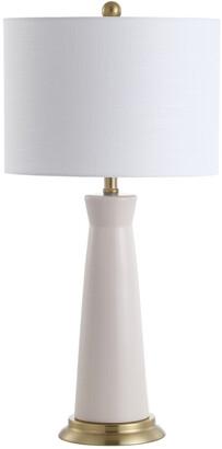 Jonathan Y Designs Hartley 29In Ceramic Column Led Table Lamp