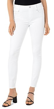 Liverpool Los Angeles Gia Glider Ankle Jeans in White