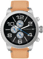 Rocawear Mens Brown Strap Watch-Rm0209s1-050