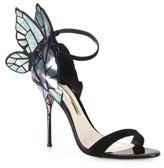 Sophia Webster Chiara Butterfly Suede Sandals