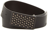 HUGO BOSS Gusy Leather Studded Belt
