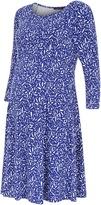 Isabella Oliver Gresham Maternity Print Dress
