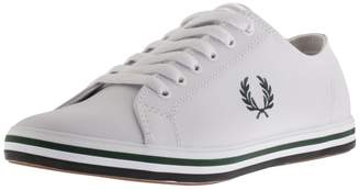 Fred Perry Kingston Leather Trainers White