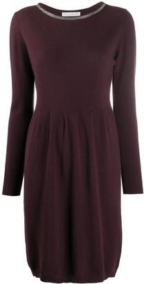 Fabiana Filippi Monili Embellished Jumper Dress