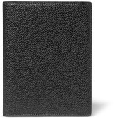 Thom Browne Pebble-Grain Leather Passport Holder