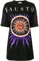 Fausto Puglisi sun print oversized T-shirt dress