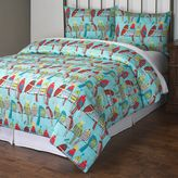 Feathered Friends Comforter Set in Blue