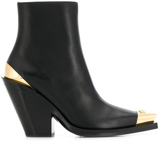 Versace Western-style ankle boots