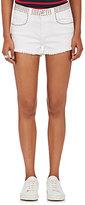 L'Agence Women's Zoe Studded Le Vintage Denim Shorts