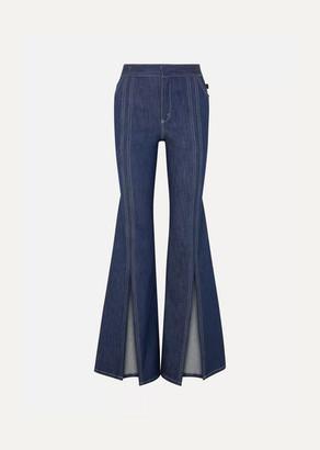 Chloé High-rise Flared Jeans - Indigo