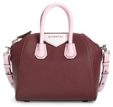 Givenchy Mini Antigona Leather Top Handle Satchel - Red