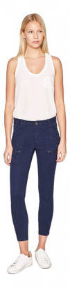 Joie Navy Cotton Jeans for Women