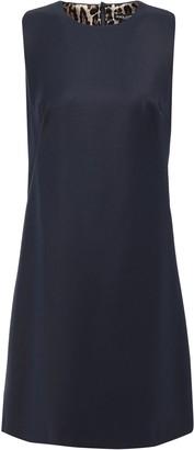 Dolce & Gabbana Wool-twill Mini Dress