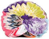 Missoni colour block turban