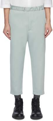 Oamc Elastic waist cropped pants