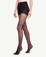 Ann Taylor Sheer Dot Tights